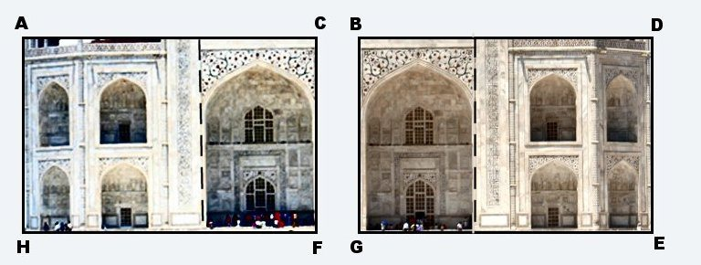 Taj Mahal Side Rectangles